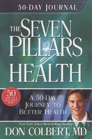 Cover of: The Seven Pillars of Health 50-day Journal