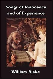 Cover of: Songs of Innocence and of Experience