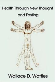 Cover of: Health Through New Thought and Fasting