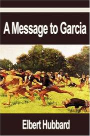 Cover of: A Message to Garcia