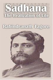 Tagore sadhana the realization of life