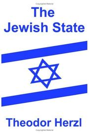 Cover of: The Jewish state