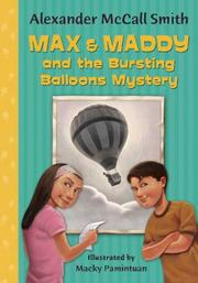 Cover of: Max & Maddy and the Bursting Balloons Mystery