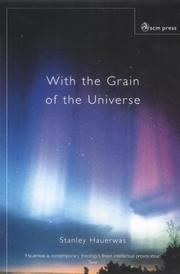Cover of: With the Grain of the Universe