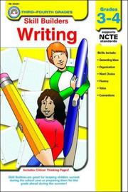 Cover of: Writing Grades 3-4 (Skill Builders Series) | Carson Dellosa Publishing