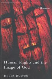 Cover of: Human Rights And The Image Of God | Roger Ruston