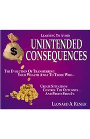 Cover of: Learning to Avoid Unintended Consequences