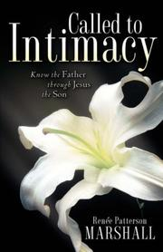 Cover of: Called to Intimacy | Renee, Marshall