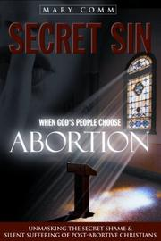 Cover of: Secret Sin | Mary Comm