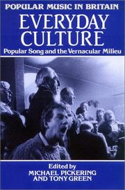 Cover of: Everyday Culture