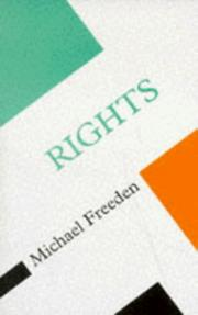 Cover of: Rights (Concepts in the Social Sciences