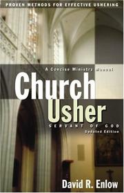 Cover of: Church usher