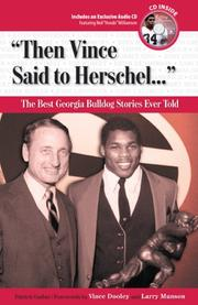 Cover of: Then Vince Said to Herschel | Patrick Garbin