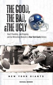 The Good, the Bad, and the Ugly New York Giants