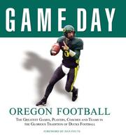 Cover of: Game Day: Oregon Football