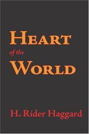 Cover of: Heart of the world