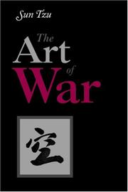 Cover of: The Art of War | Sunzi