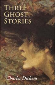 Cover of: Three Ghost Stories
