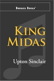 Cover of: King Midas: A Romance