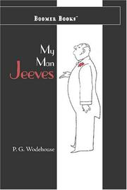 Cover of: My Man Jeeves | P. G. Wodehouse