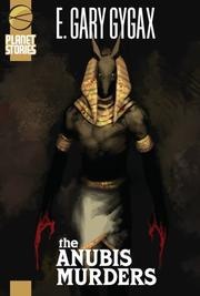 Cover of: The Anubis Murders (Planet Stories Library)