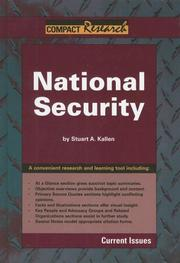 Cover of: Compact Research, National Security (Compact Research Series)