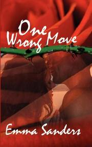 Cover of: One Wrong Move | Emma Sanders