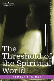 Cover of: The Threshold of the Spiritual World