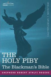 Cover of: The Holy Piby