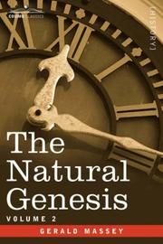 Cover of: The Natural Genesis - Vol.2 | Gerald Massey