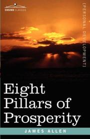 Cover of: Eight Pillars of Prosperity | James Allen