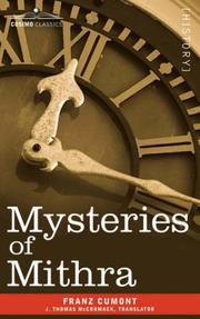 Cover of: Mysteries of Mithra