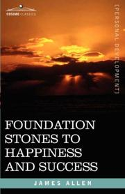 Cover of: Foundation Stones to Happiness and Success