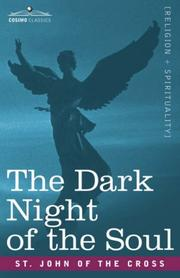Cover of: The Dark Night of the Soul | St. John of the Cross