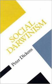 Cover of: Social Darwinism | Peter Dickens