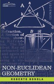 Cover of: Geometria non euclidea