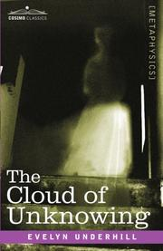 Cover of: The Cloud of Unknowing: The Classic of Medieval Mysticism