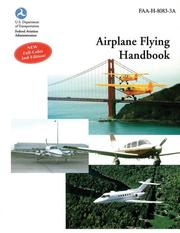 Cover of: Airplane Flying Handbook | F.A.A.