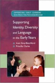 Cover of: Supp. Identity, Diversity & Language in the Early Years (Supporting Early Learning)