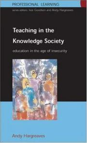 Cover of: Teaching in the Knowledge Society | Andy Hargreaves