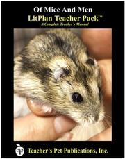 Cover of: Of Mice And Men LitPlan Teacher Pack (Print Copy) | Mary B. Collins