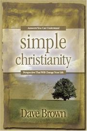 Cover of: Simple Christianity
