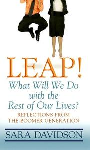 Cover of: Leap! | Sara Davidson