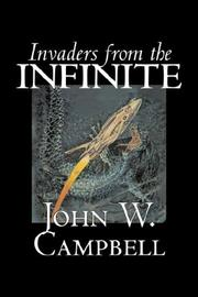 Cover of: Invaders from the Infinite