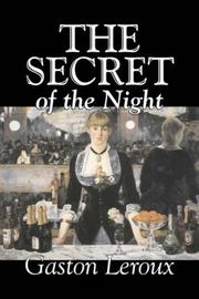 Cover of: The Secret of the Night