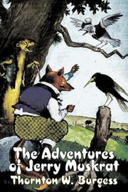 Cover of: The Adventures of Jerry Muskrat