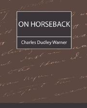 Cover of: On Horseback