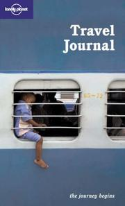 Cover of: Lonely Planet Travel Journal