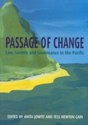 Cover of: Passage of change |