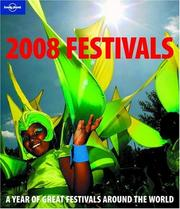 Cover of: Lonely Planet 2008 Festivals Calendar